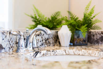 Granite stone countertop